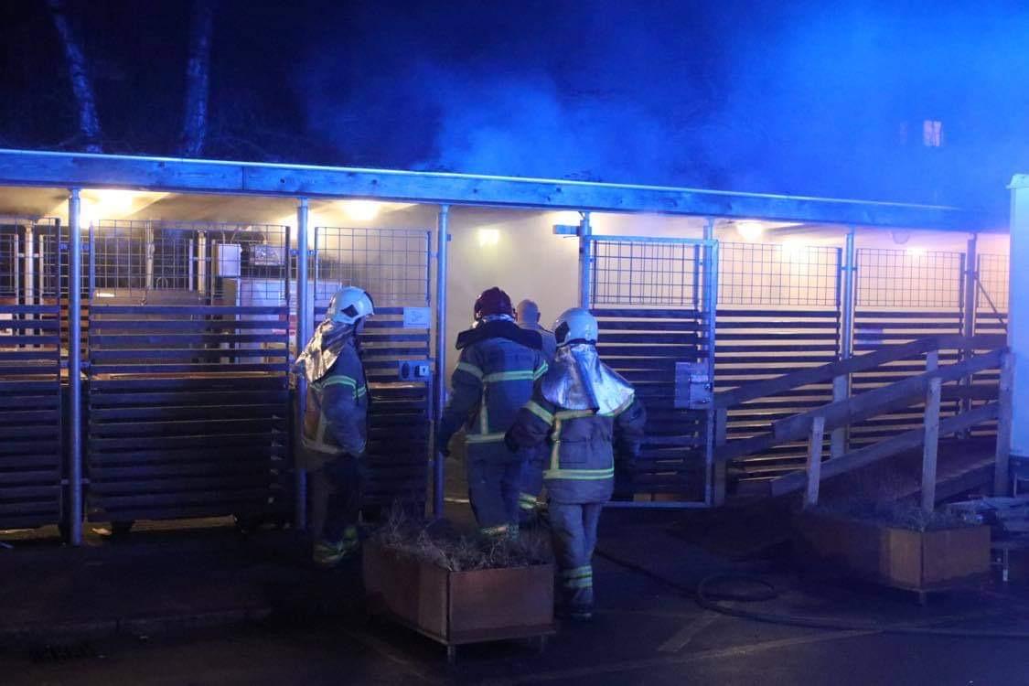 Sjette brand i København tirsdag aften - ild i skur