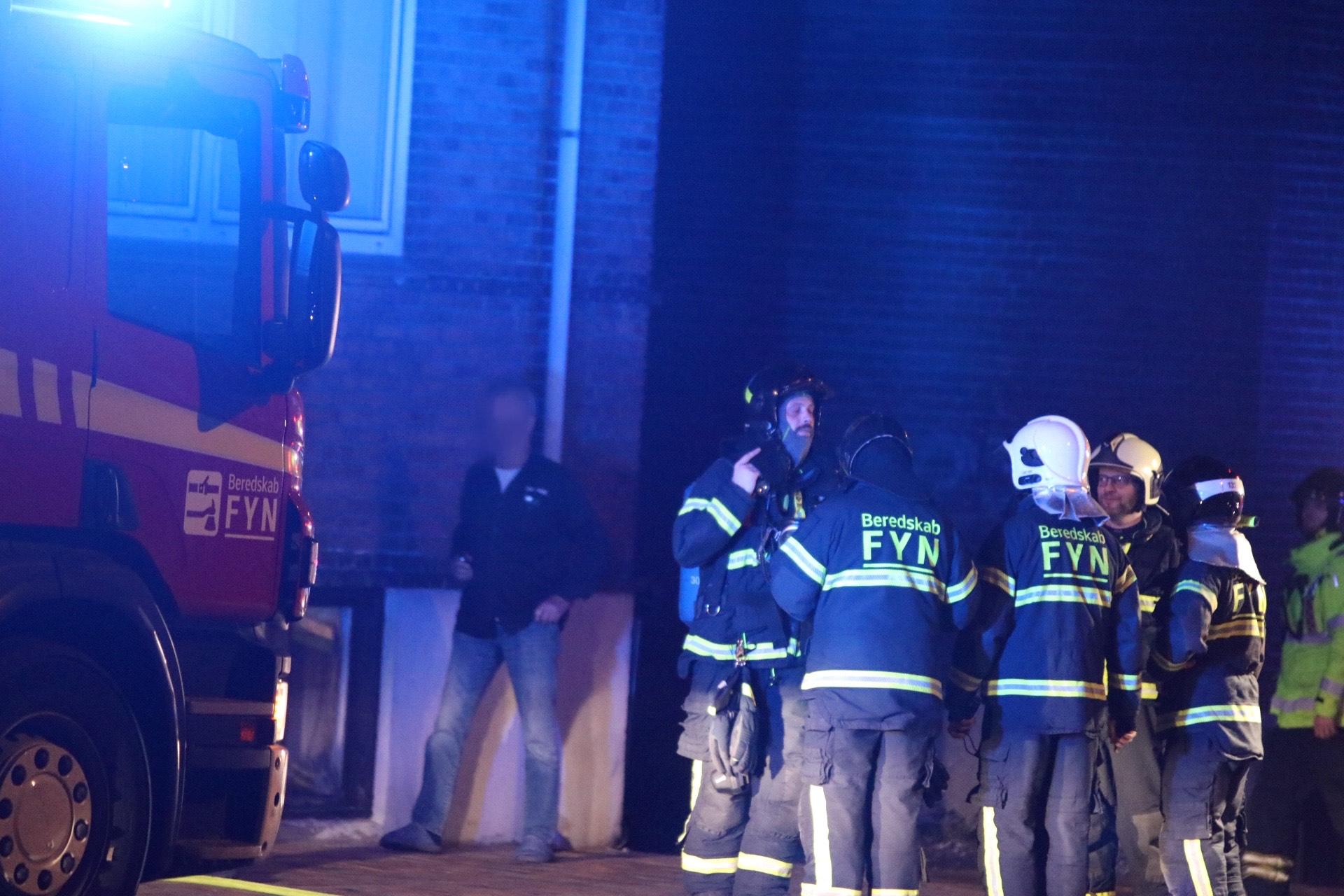 Lejlighedsbrand i Odense