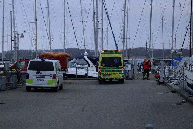 Drukneulykke i Roskilde - død person i havnen