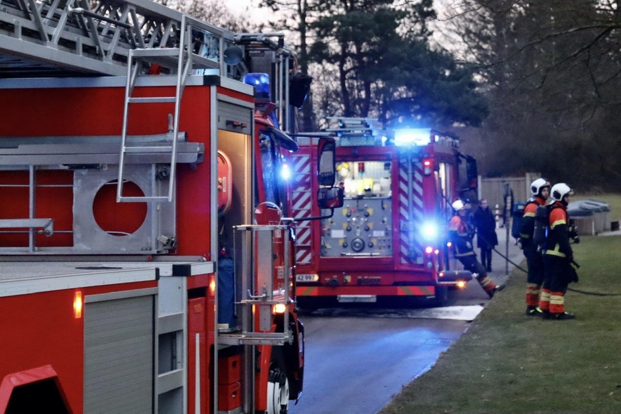 Brand i lejlighed i Randers