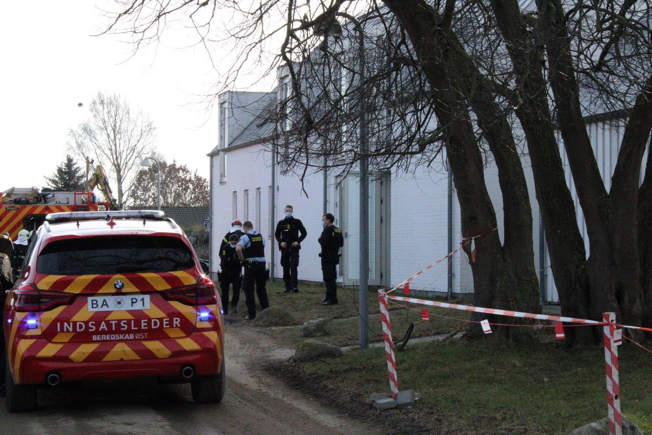 Melding om brand i Gladsaxe - stor udrykning