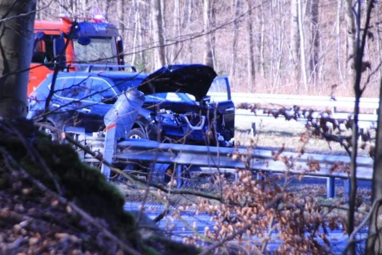 Uheld på Helsingørmotorvejen tirsdag formiddag
