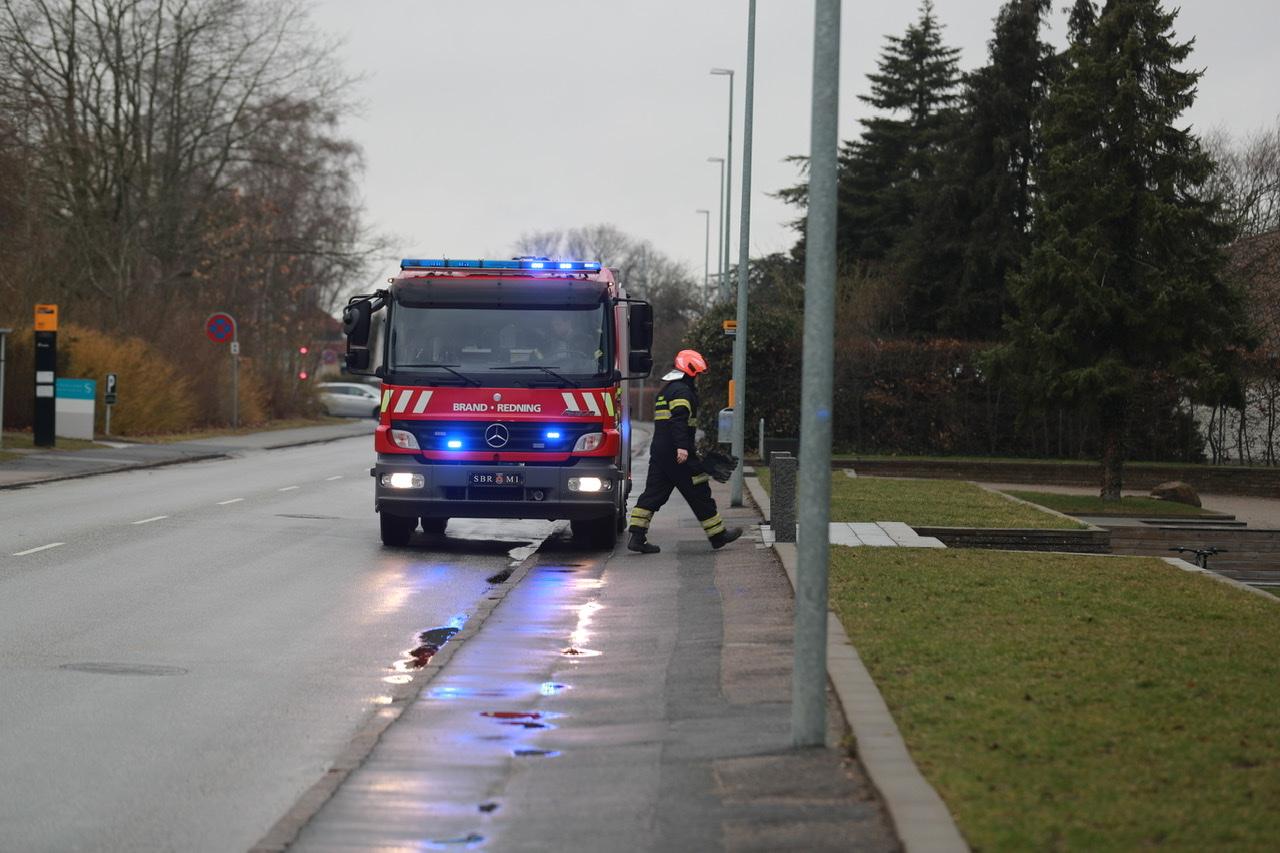 Aktiveret brandalarm i Slagelse