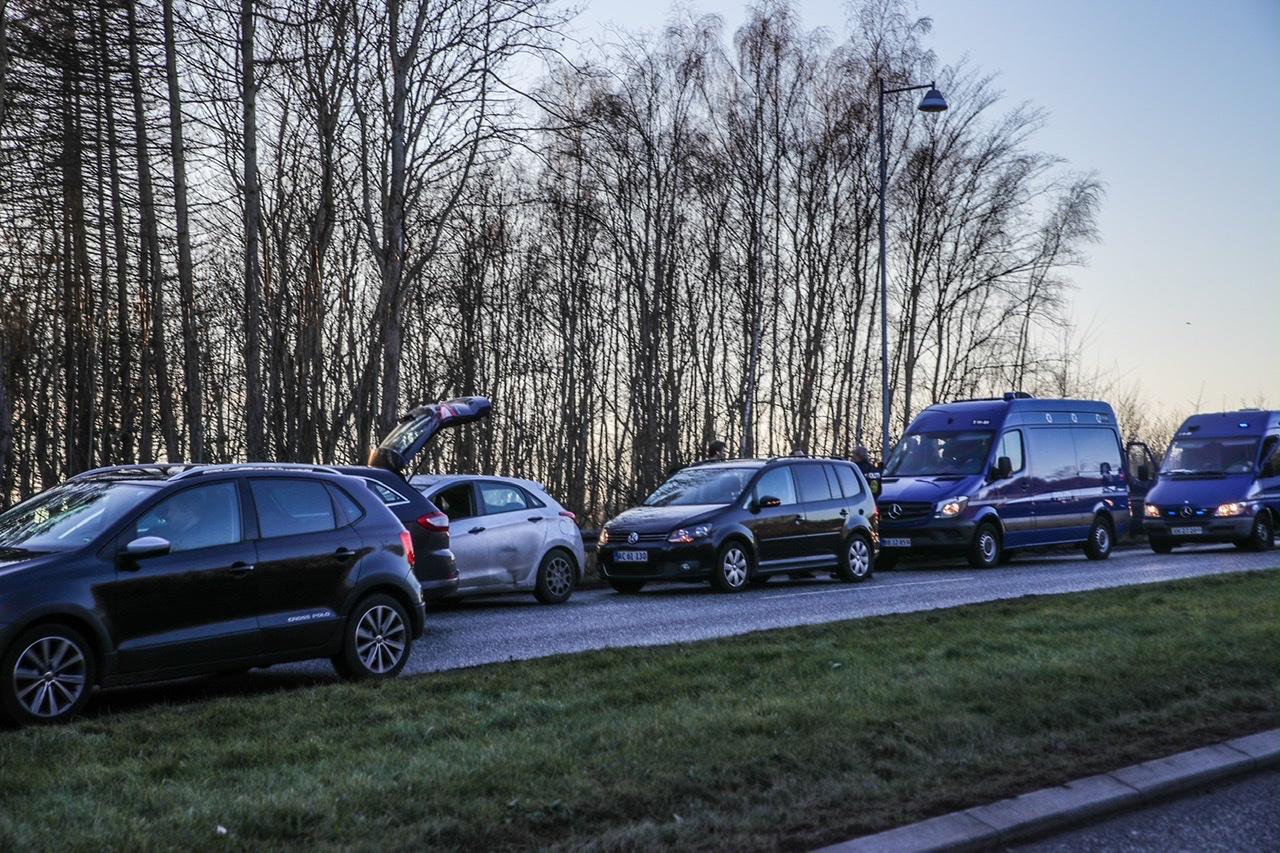 Politiaktion i Albertslund - flere anholdte