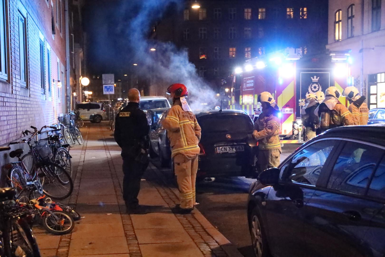 Bilbrand på Nørrebro