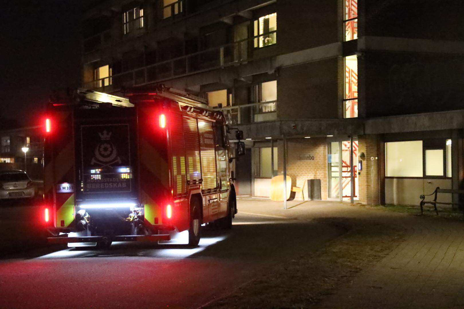 Automatisk brandalarm i Husum