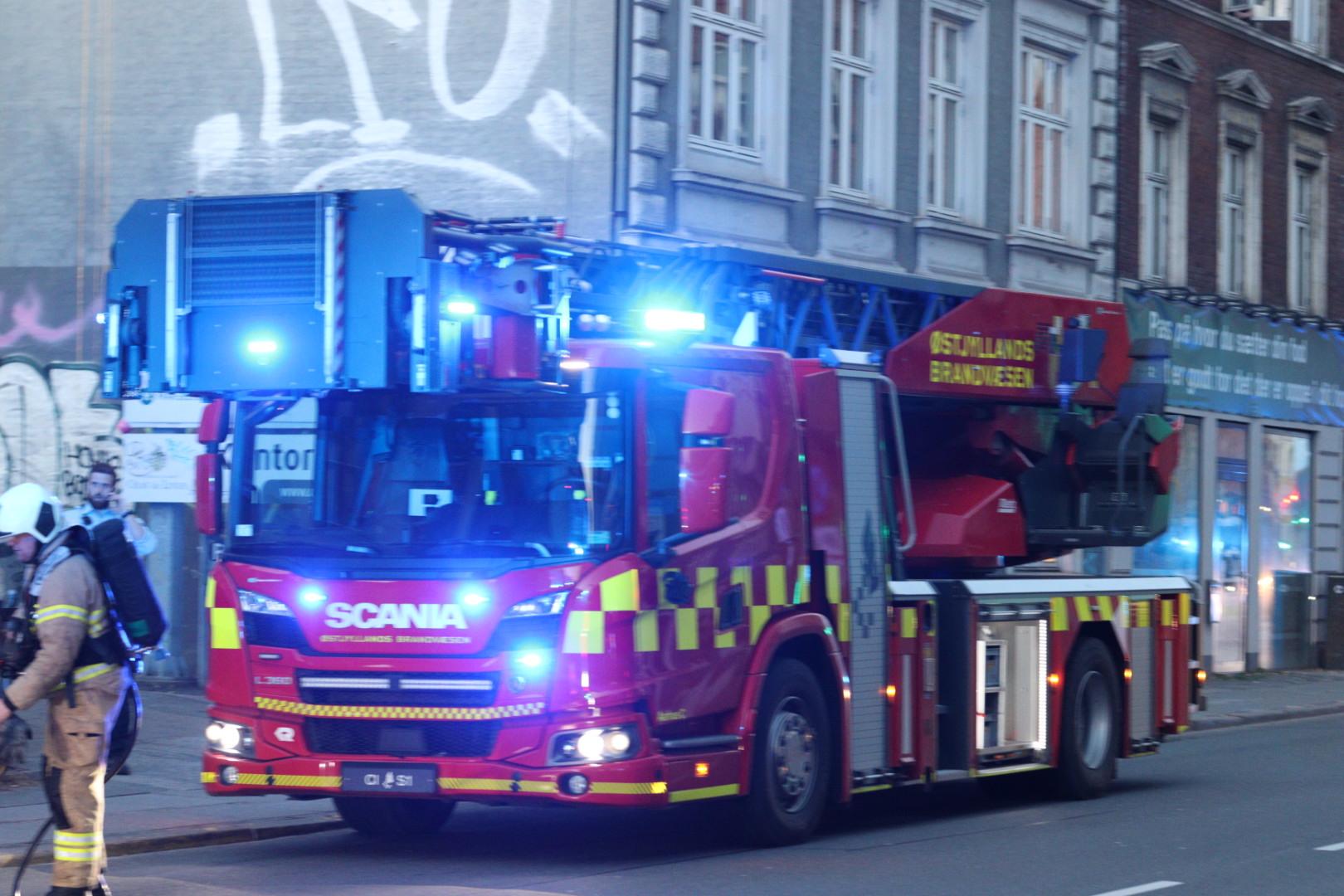 Brand på Nørre allé Aarhus C