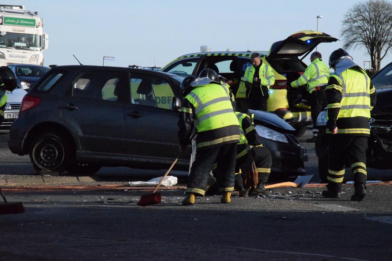Uheld i Guderup ved Nordborg
