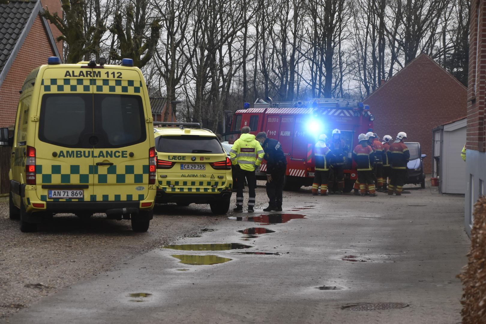 Mulig dødsbrand i Vildbjerg