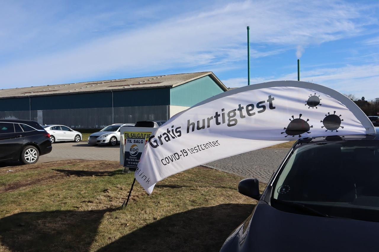 Lange køer til test i Esbjerg