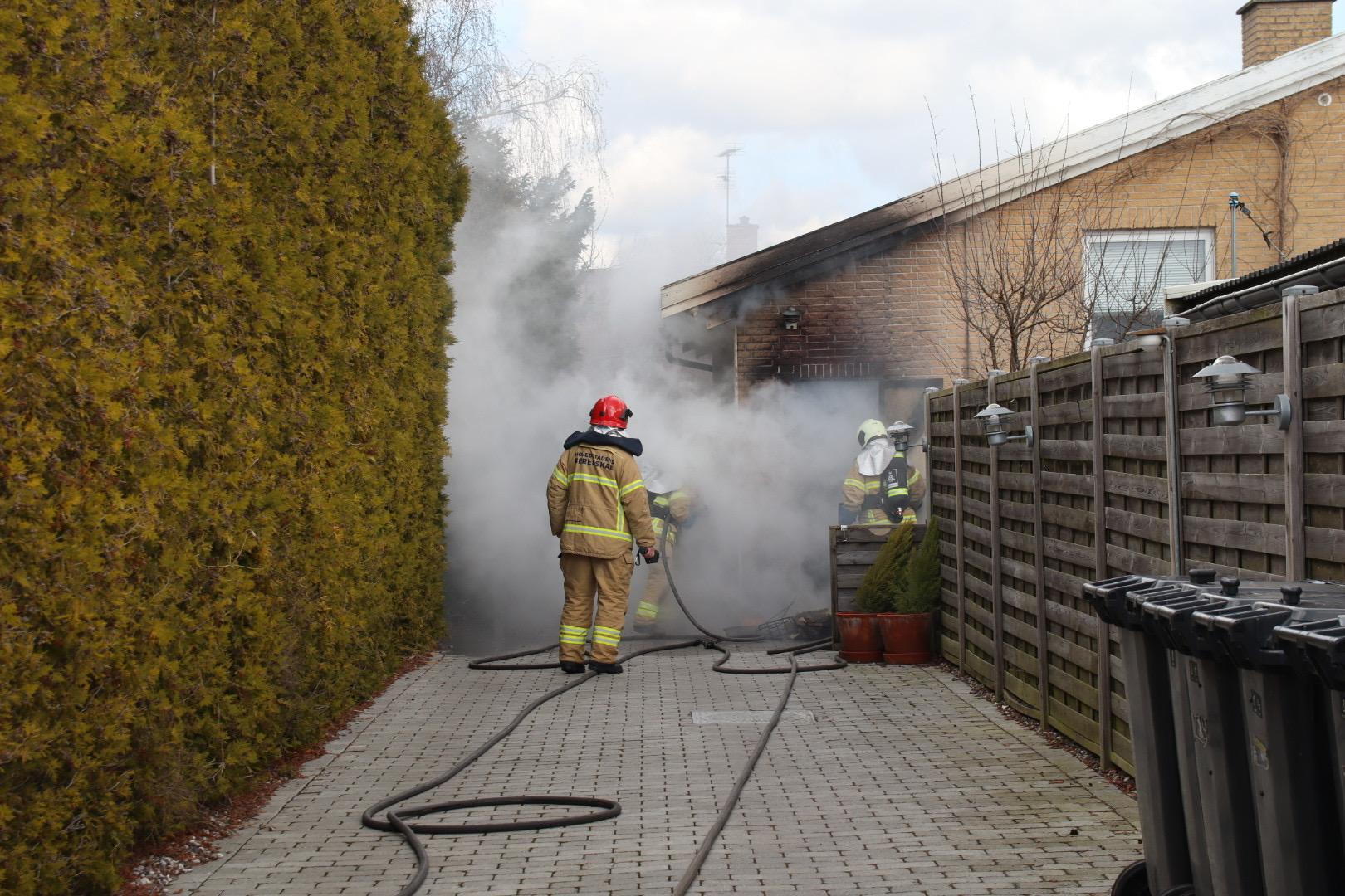 Bygningsbrand i Rødovre
