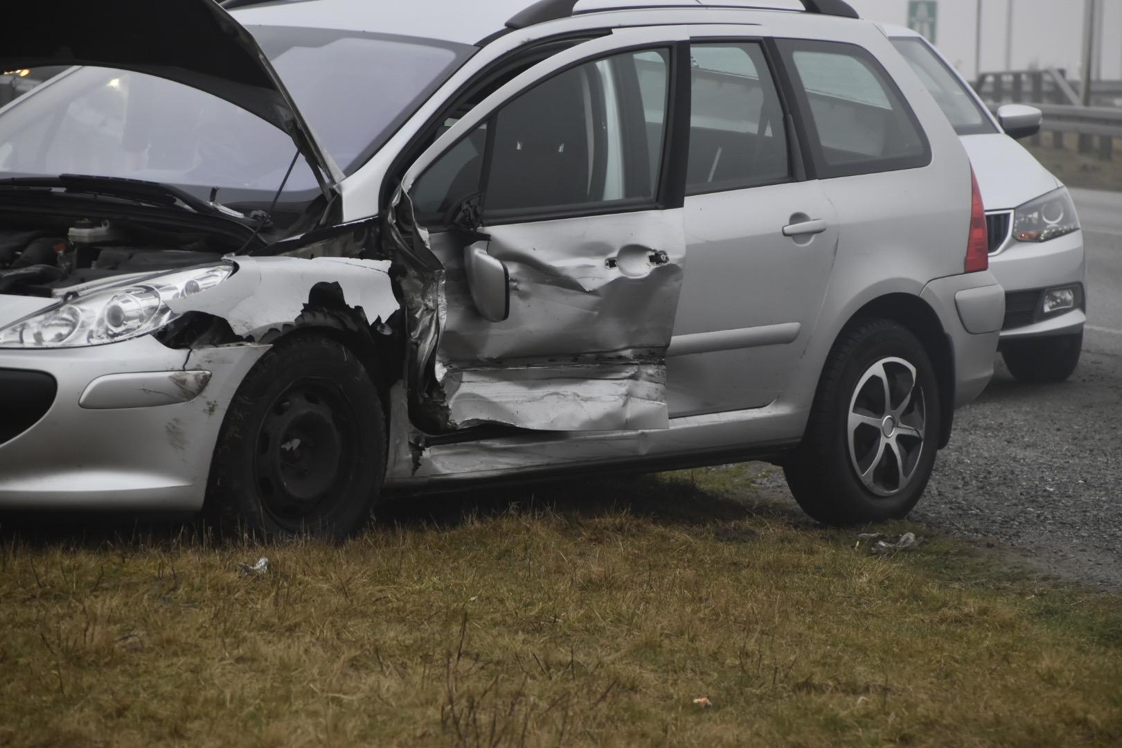 Færdselsuheld i Silkeborg