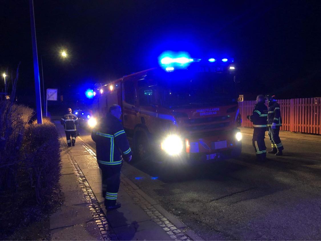 Brand i bygning i Aalborg mandag aften
