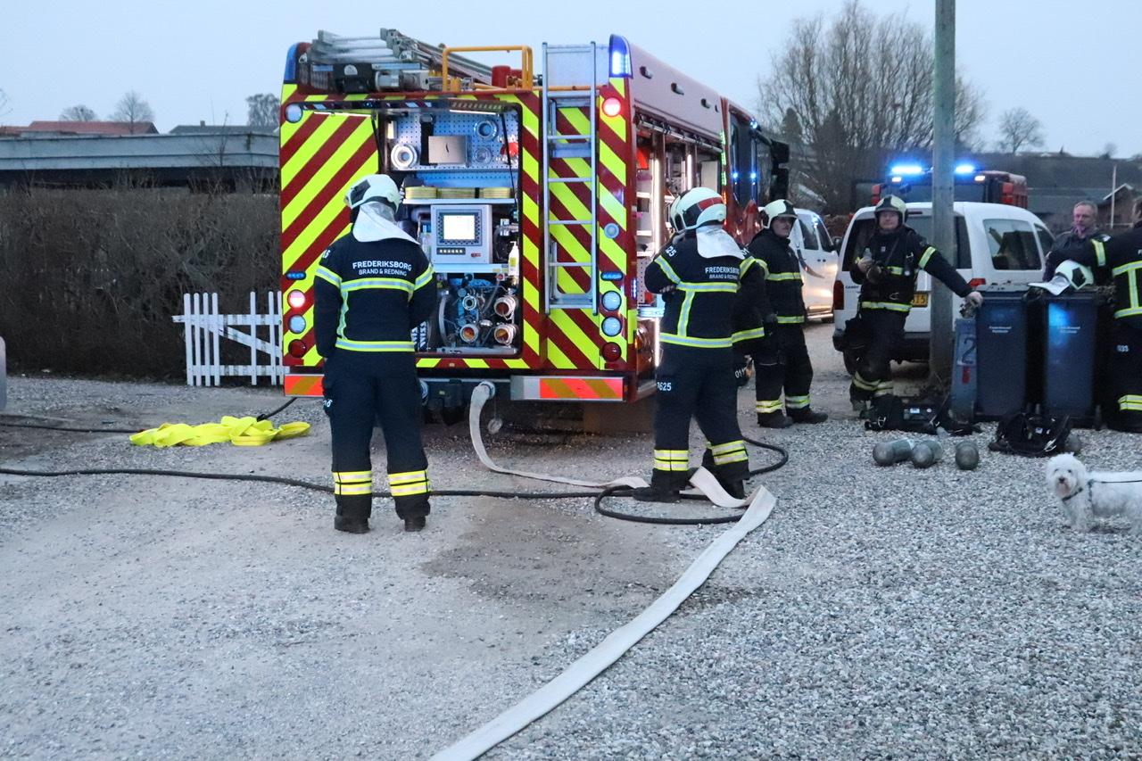 Husbrand i Frederikssund