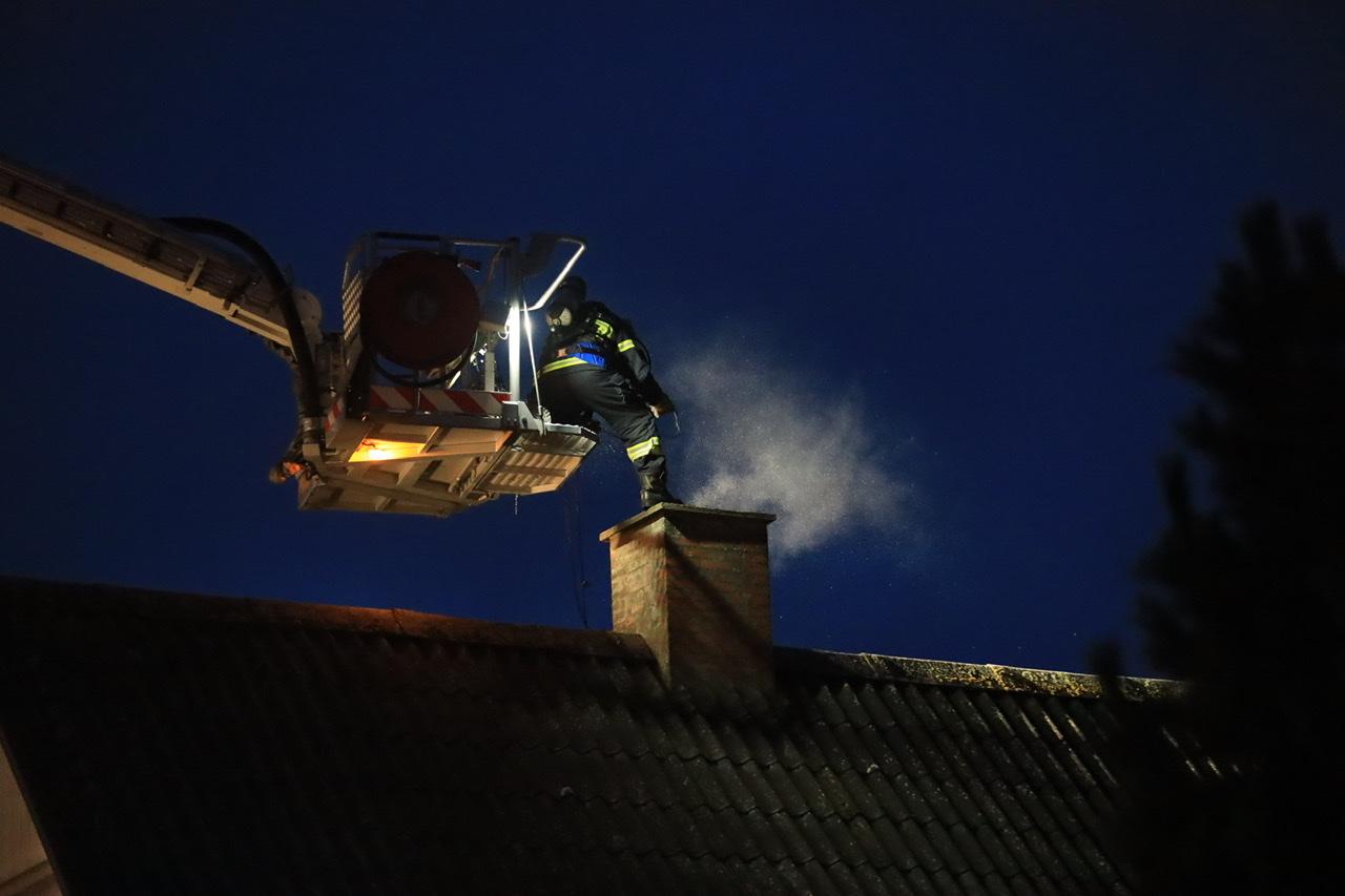 Brand i skorsten i Sorø