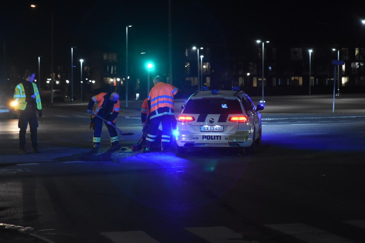 Forurening efter uheld i Fredericia
