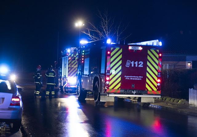 Bygningsbrand i Augustenborg