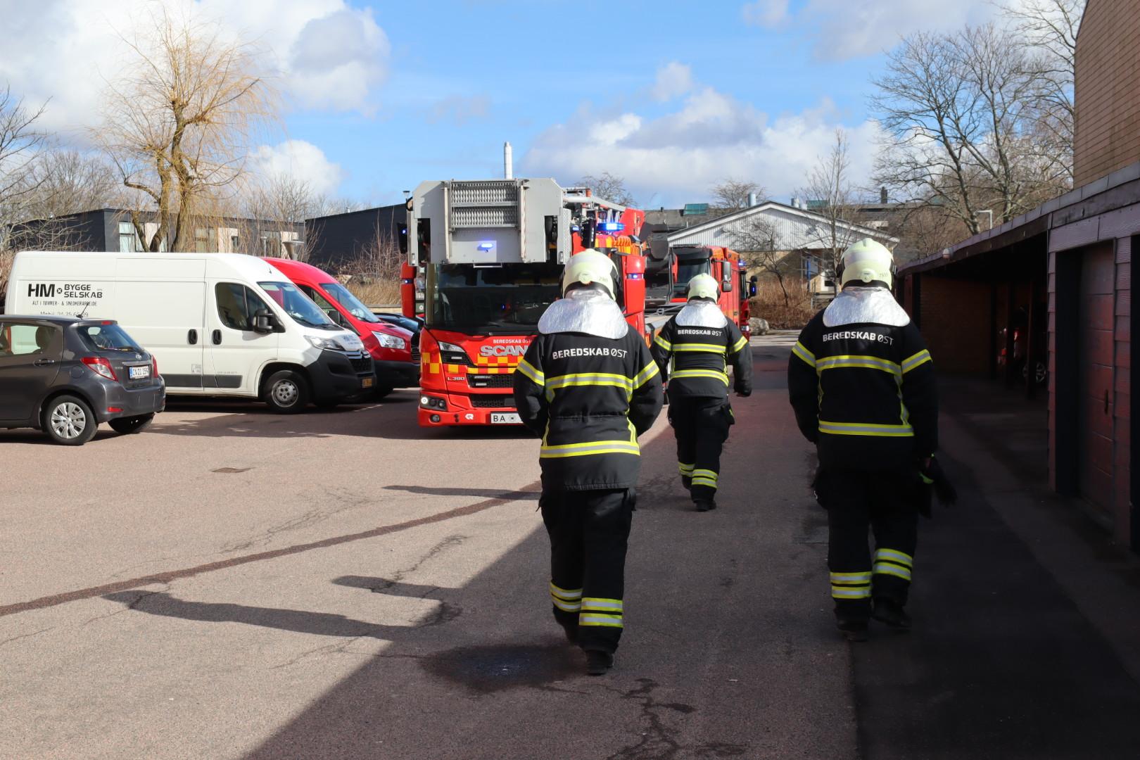 Brand i lejlighed i Skovlunde