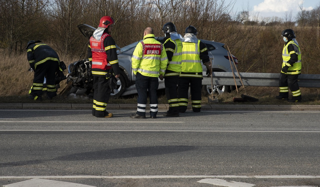 Færdselsuheld i Augustenborg