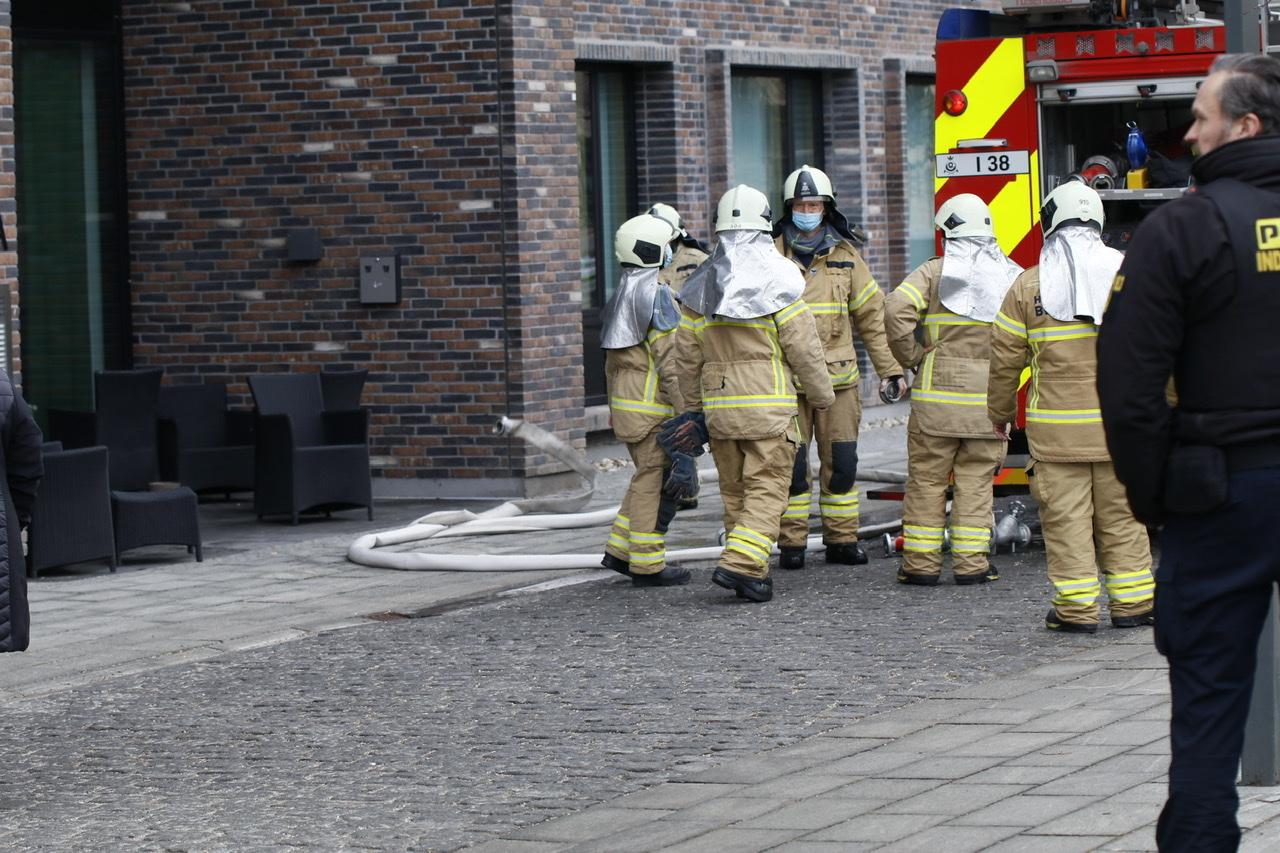 Brand i lejlighed på bosted på Amager