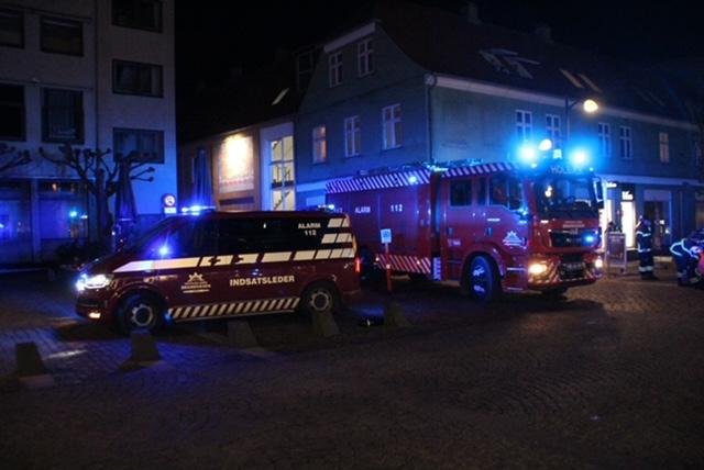 Skorstensbrand i Holbæk
