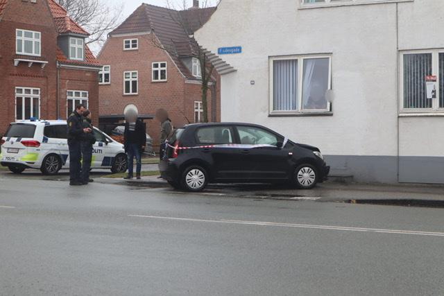 Mindre uheld i Esbjerg