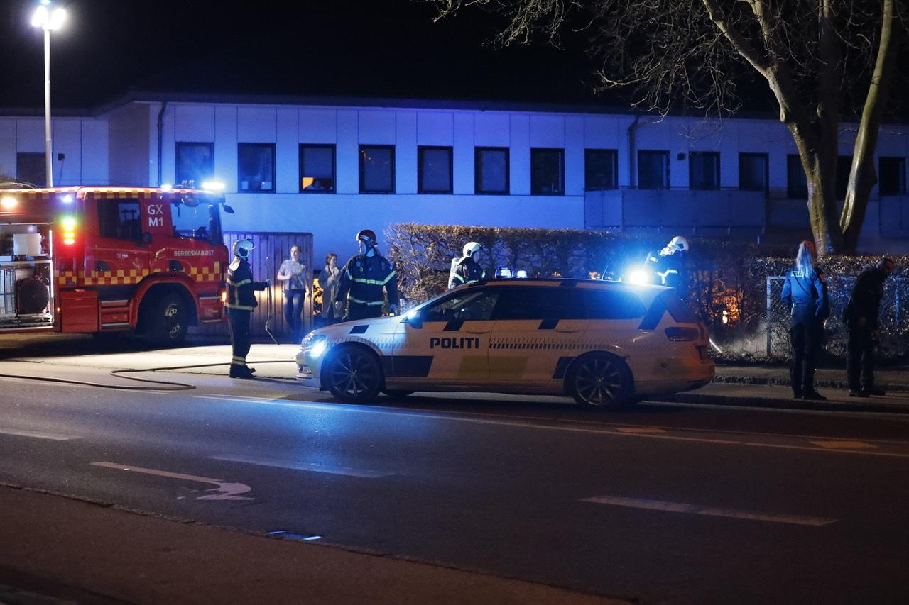 Ild i container i Bagsværd