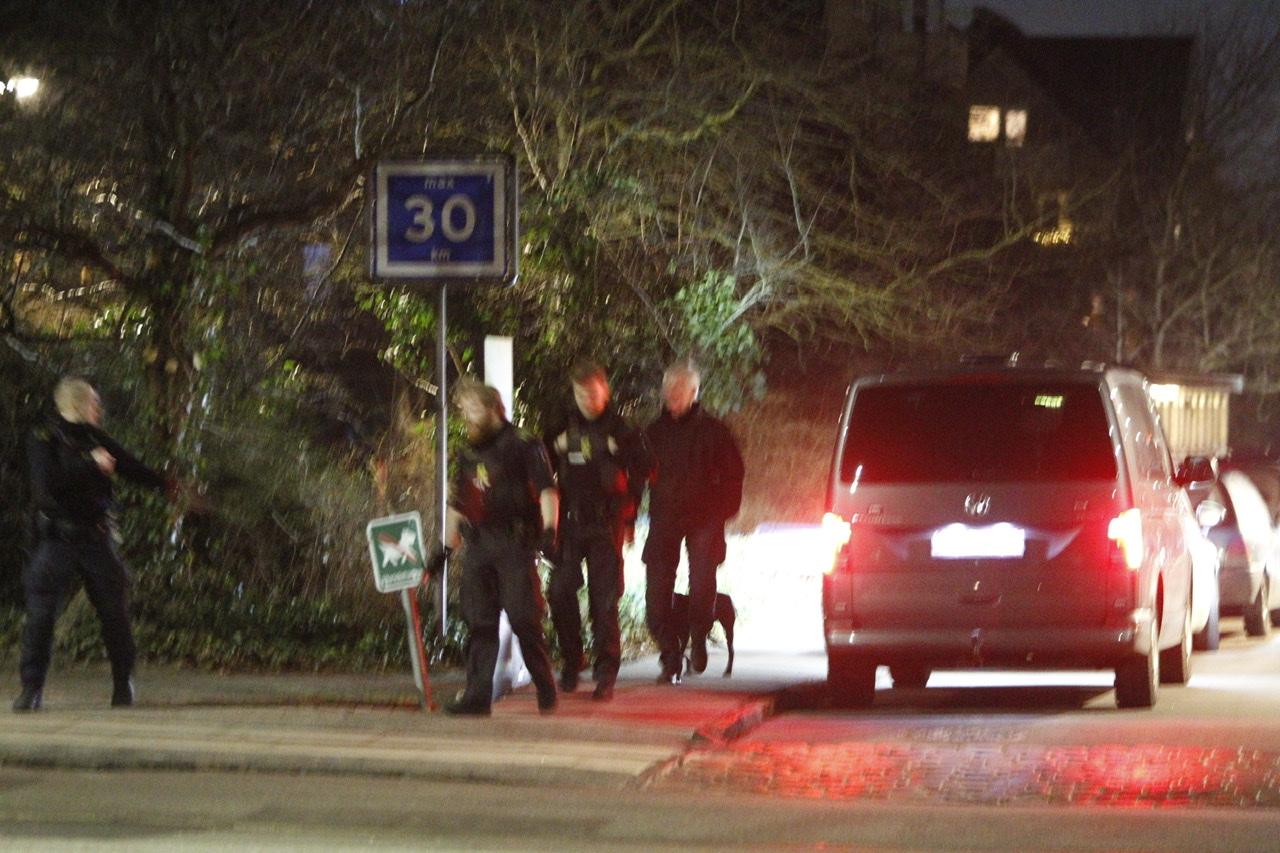 Politiaktion i København mandag aften