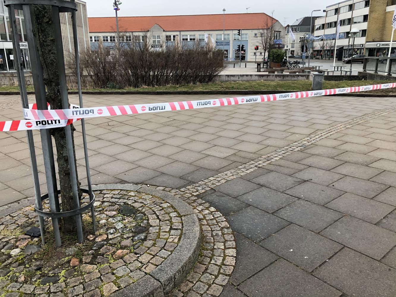 Politiets dykkere og teknikere i Frederikssund