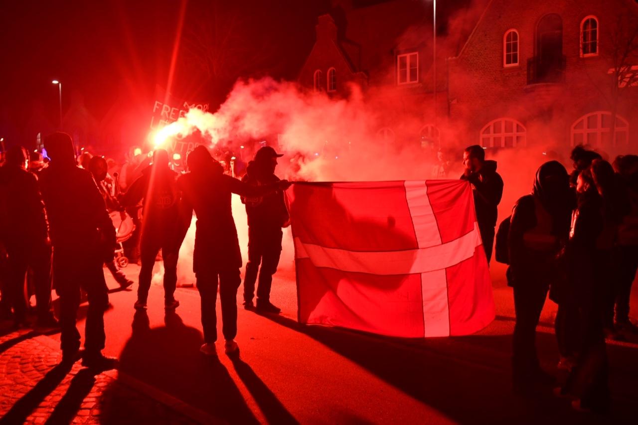 Demonstration i Odense - stort galleri