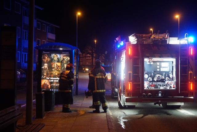 Ild i skraldespand i Viborg
