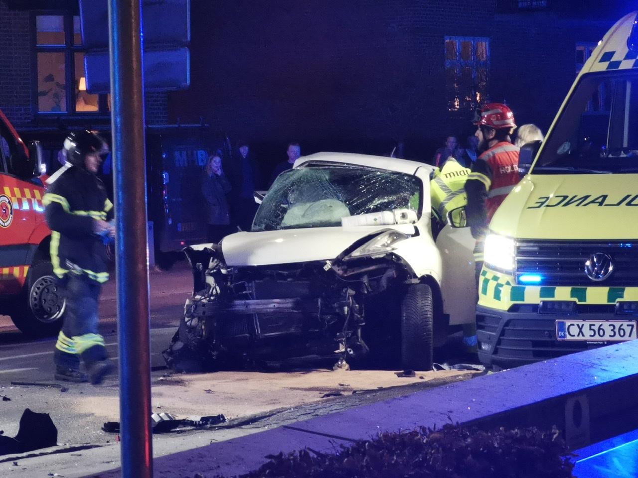 Alvorlig ulykke i Silkeborg