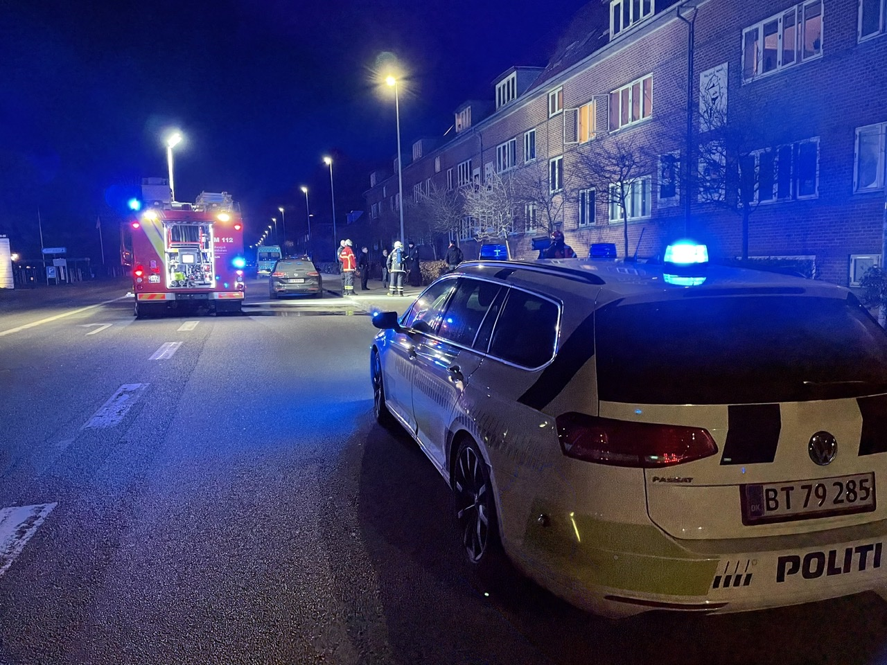 Ild i lejlighed i Esbjerg torsdag aften