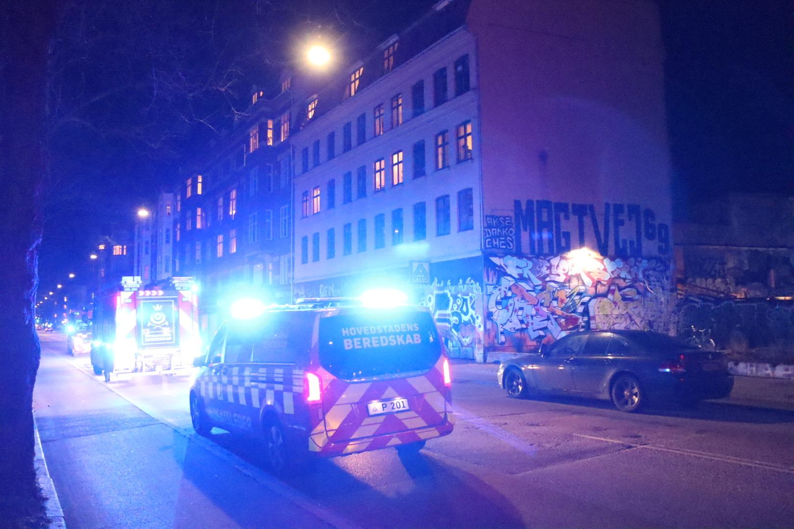 Automatisk brandalarm på Jagtvej i København