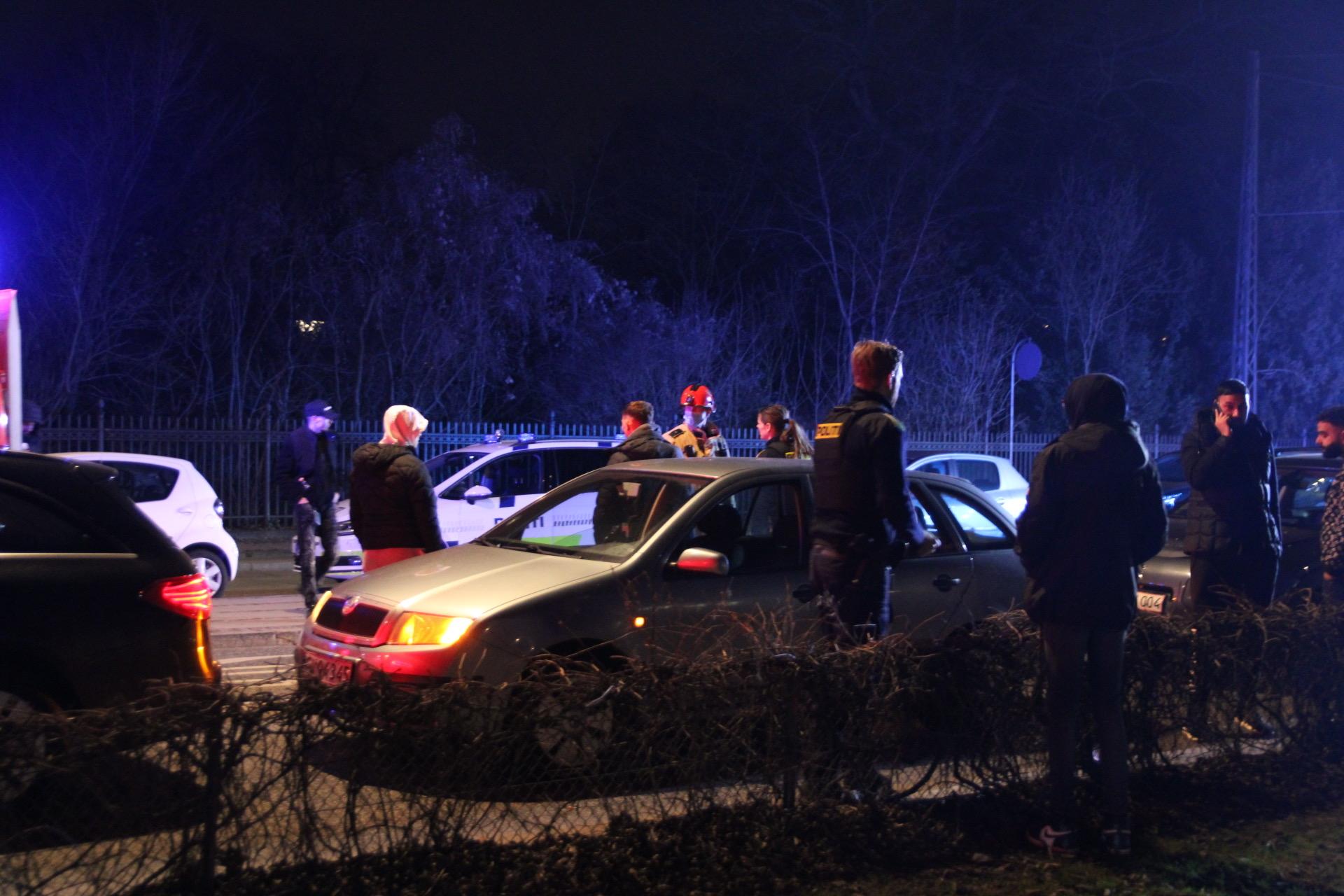 Flere biler kørt sammen i København