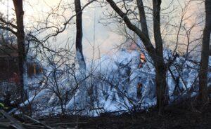 Naturbrand i Kibæk