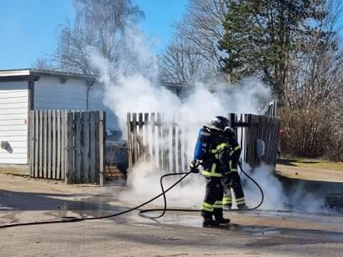 Mindre brand i Nykøbing Sjælland