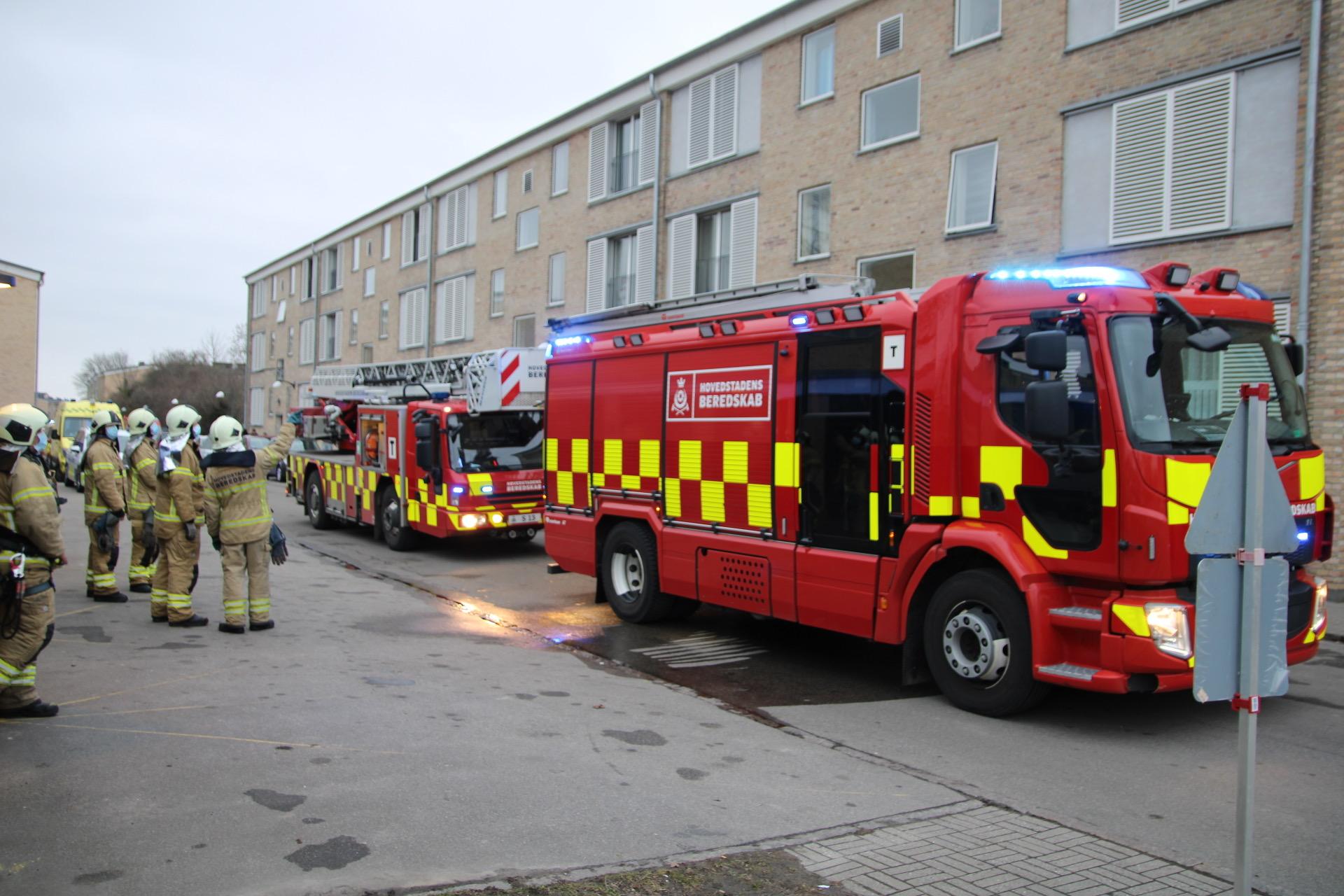 Brand i lejlighed i Tingbjerg