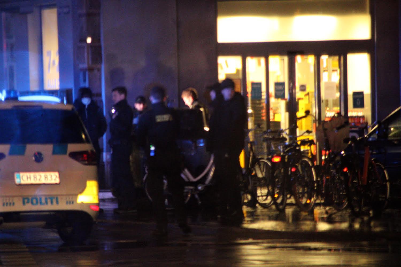 Politiet massivt til stede i indre København