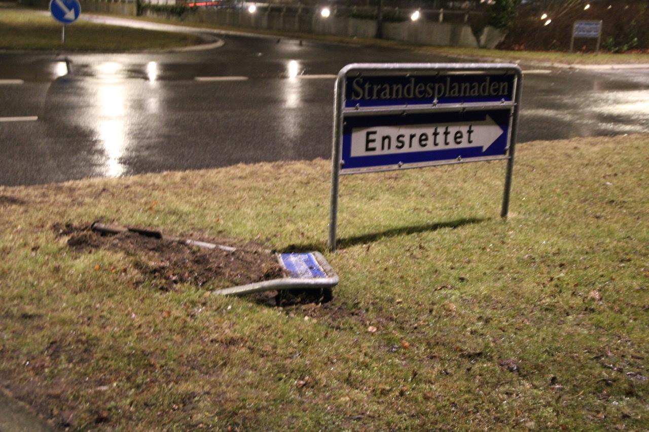 Mindre uheld i Brøndby strand