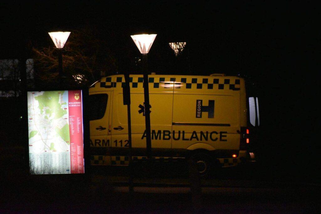 Cyklist påkørt i Hillerød mandag aften