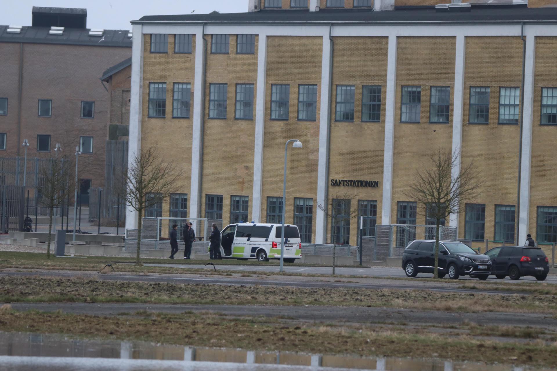 Politiet snakker med de unge i Assens