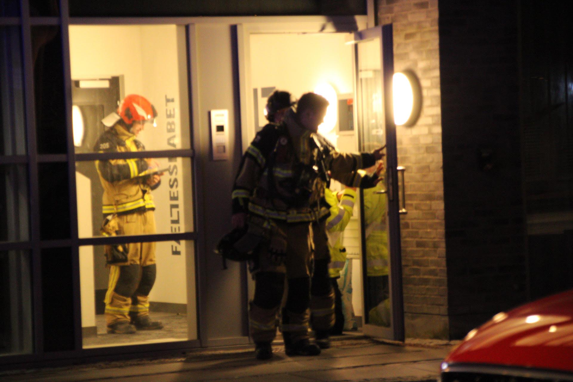 Automatisk brandalarm i Roskilde