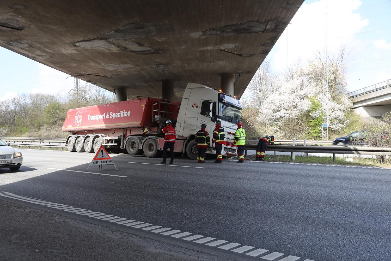 Færdselsuheld på Køge bugt motorvejen