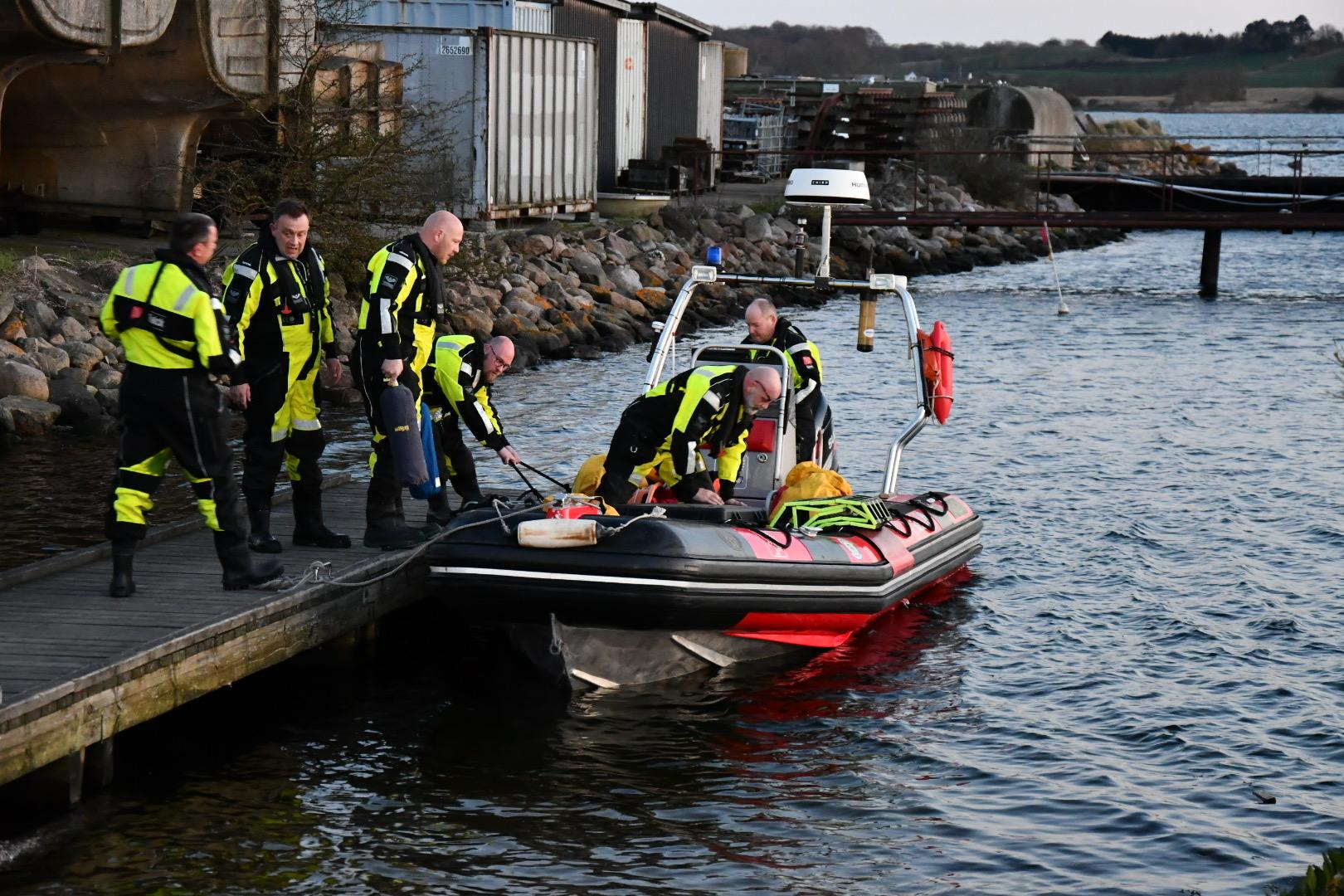 Brandfolk kaldt til Lyø - Brand i stald med dyrehold