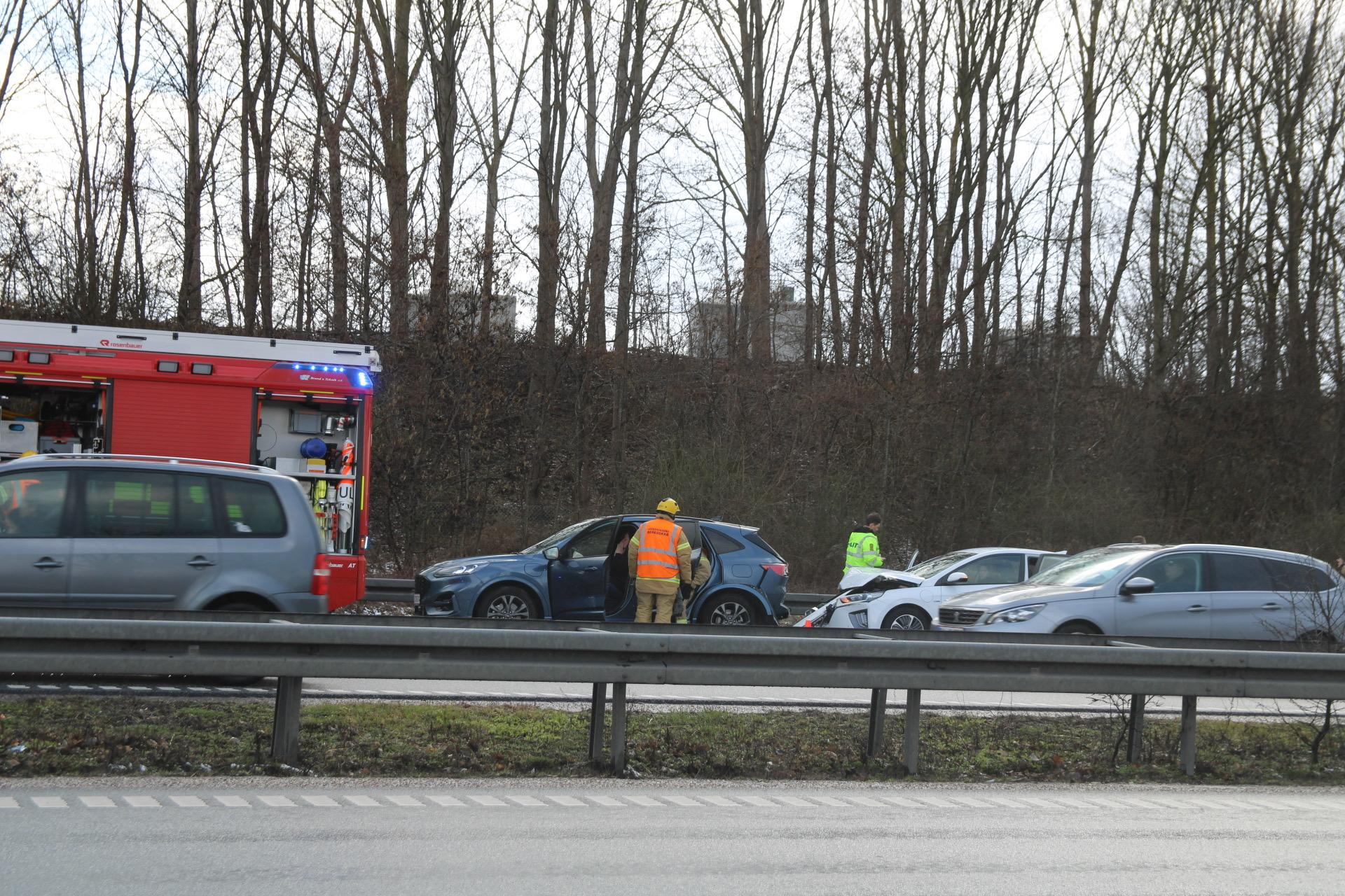 Færdselsuheld på Køgebugt motorvejen