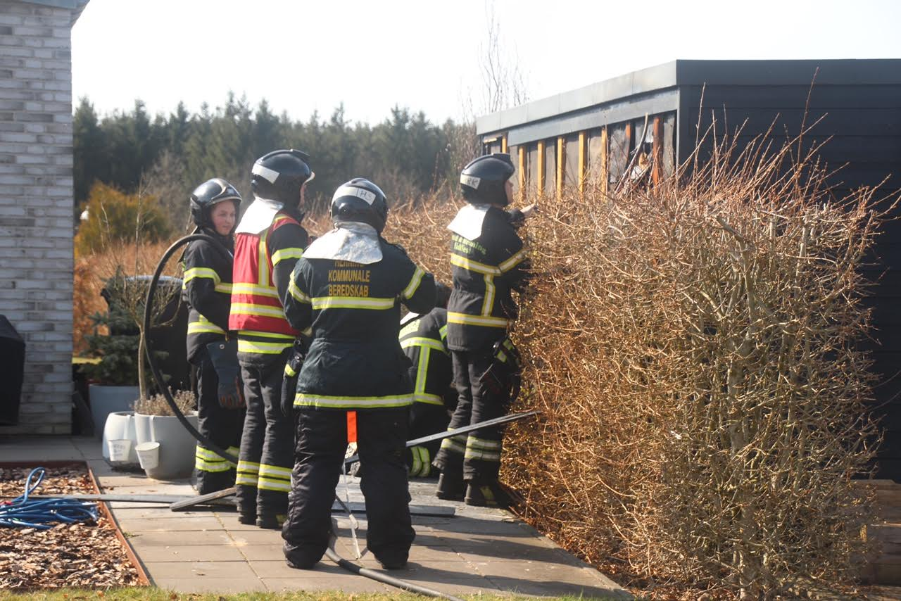 Brand i Lind ved Herning