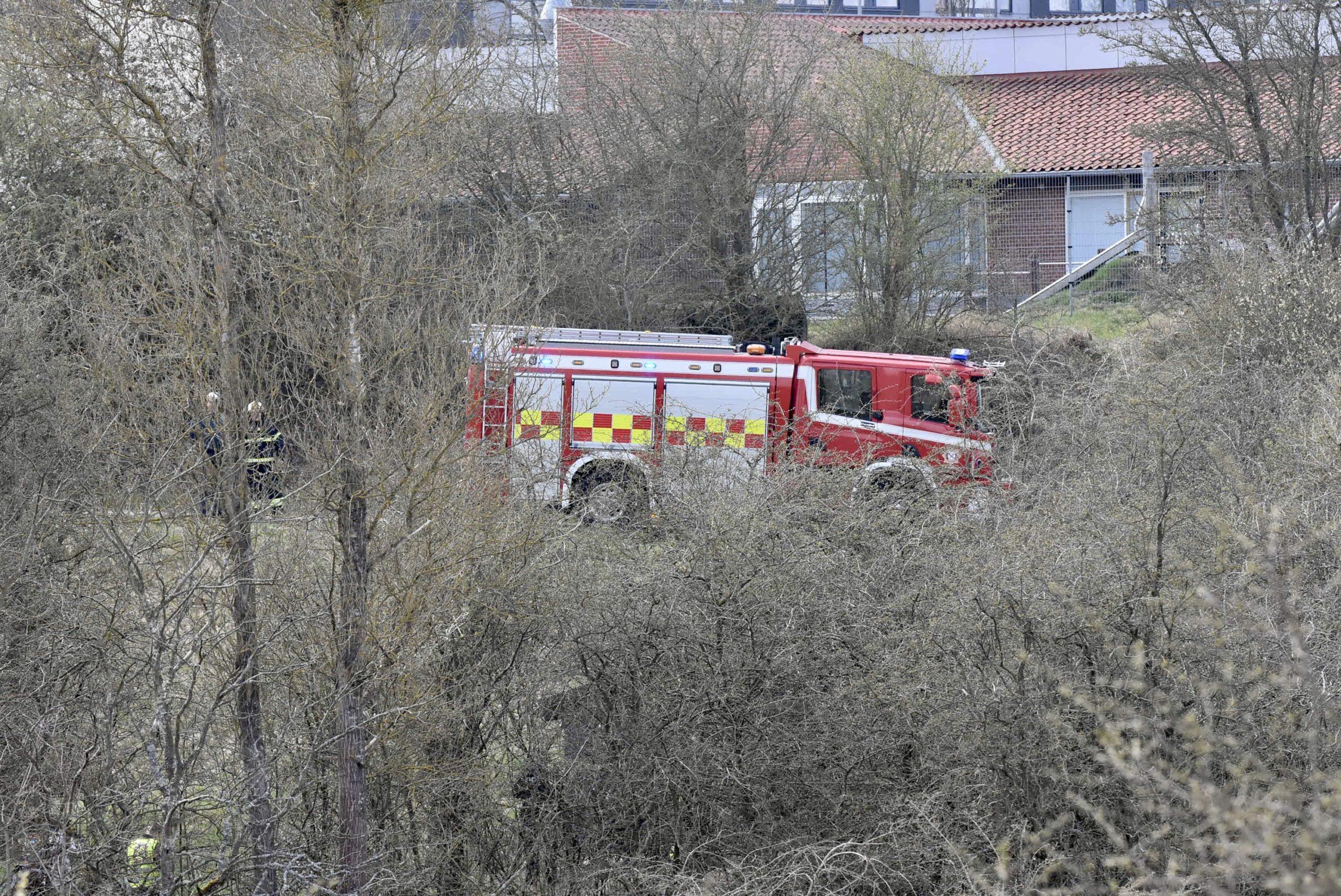 Melding om brand på skole i Fredericia