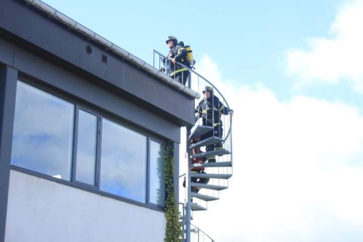 Brandalarm i Helsingør - Fabriksvej