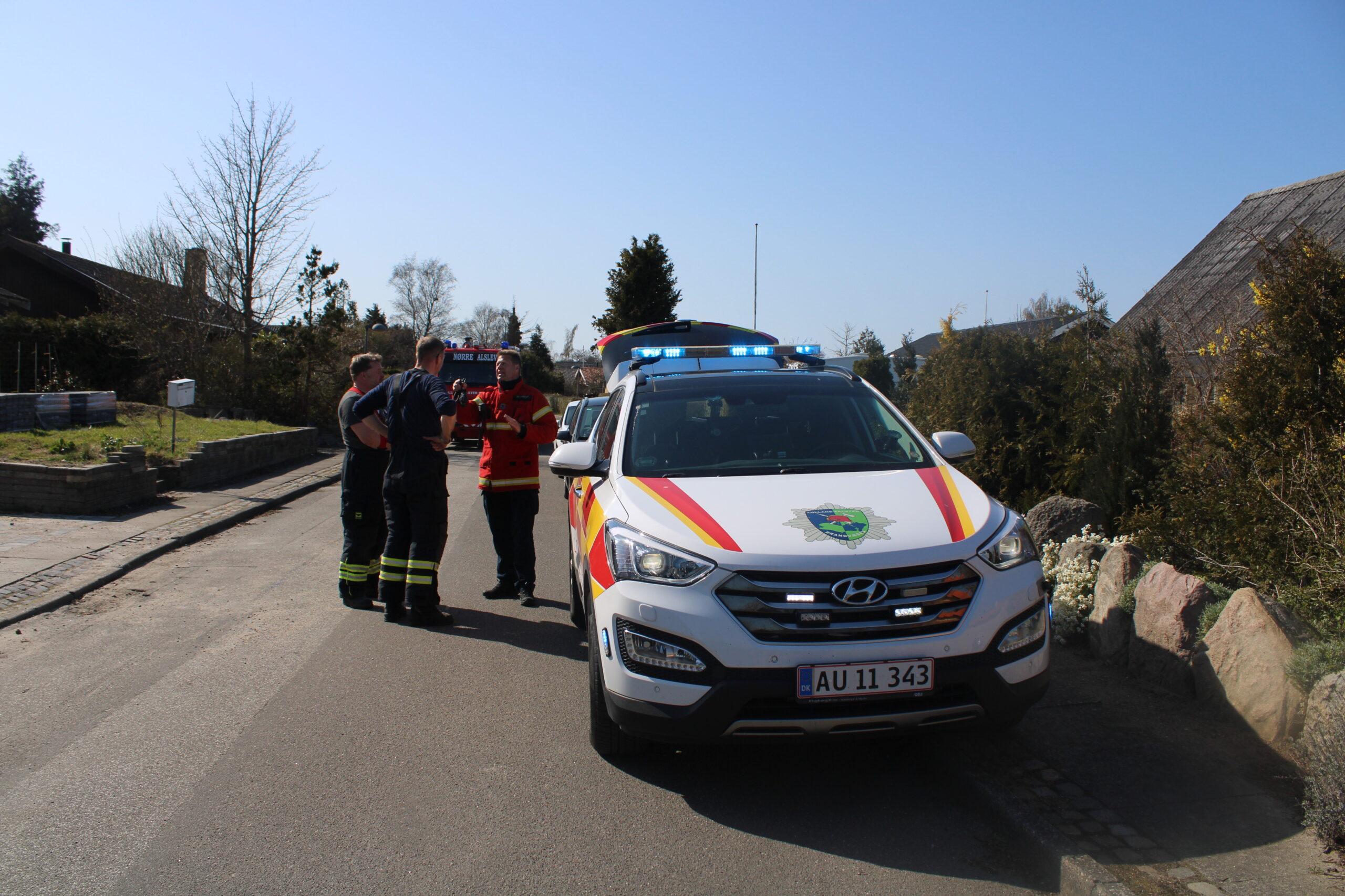 Villabrand i Eskilstrup - startet af ukrudtsbrænder